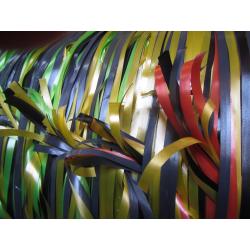 Gift ribbon weaving photos